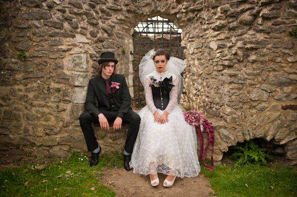 Wedding Photo Shoot Victorian Gothic Alice In Weddingland Wedding