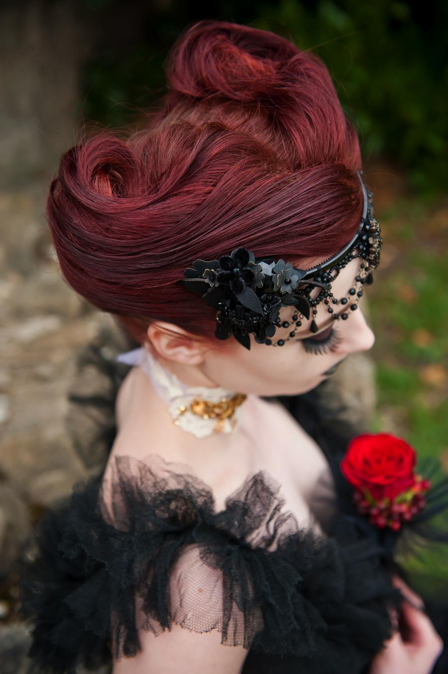 Victorian gothic hairstyles photos
