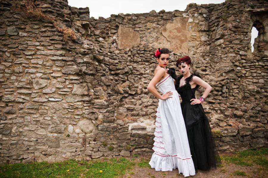 Victorian Gothic Wedding Dresses 14 Fancy Frabjous Creatives
