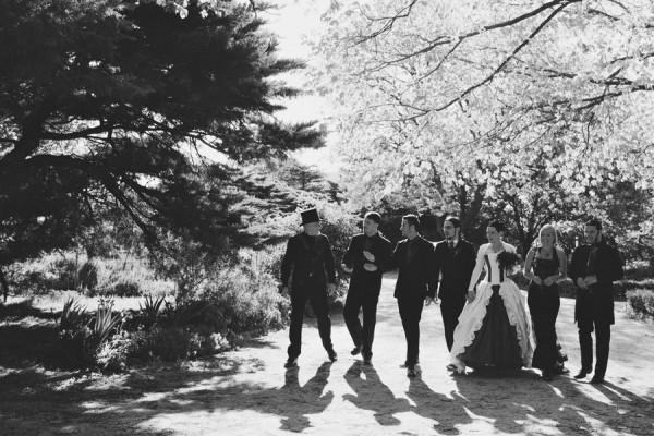 Gothic wedding - unique wedding blog - AIW - AngiePeadyPhotography11