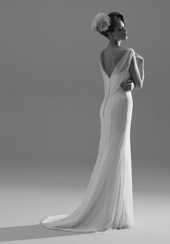 Sassi Holford Couture 2013_Lucille back