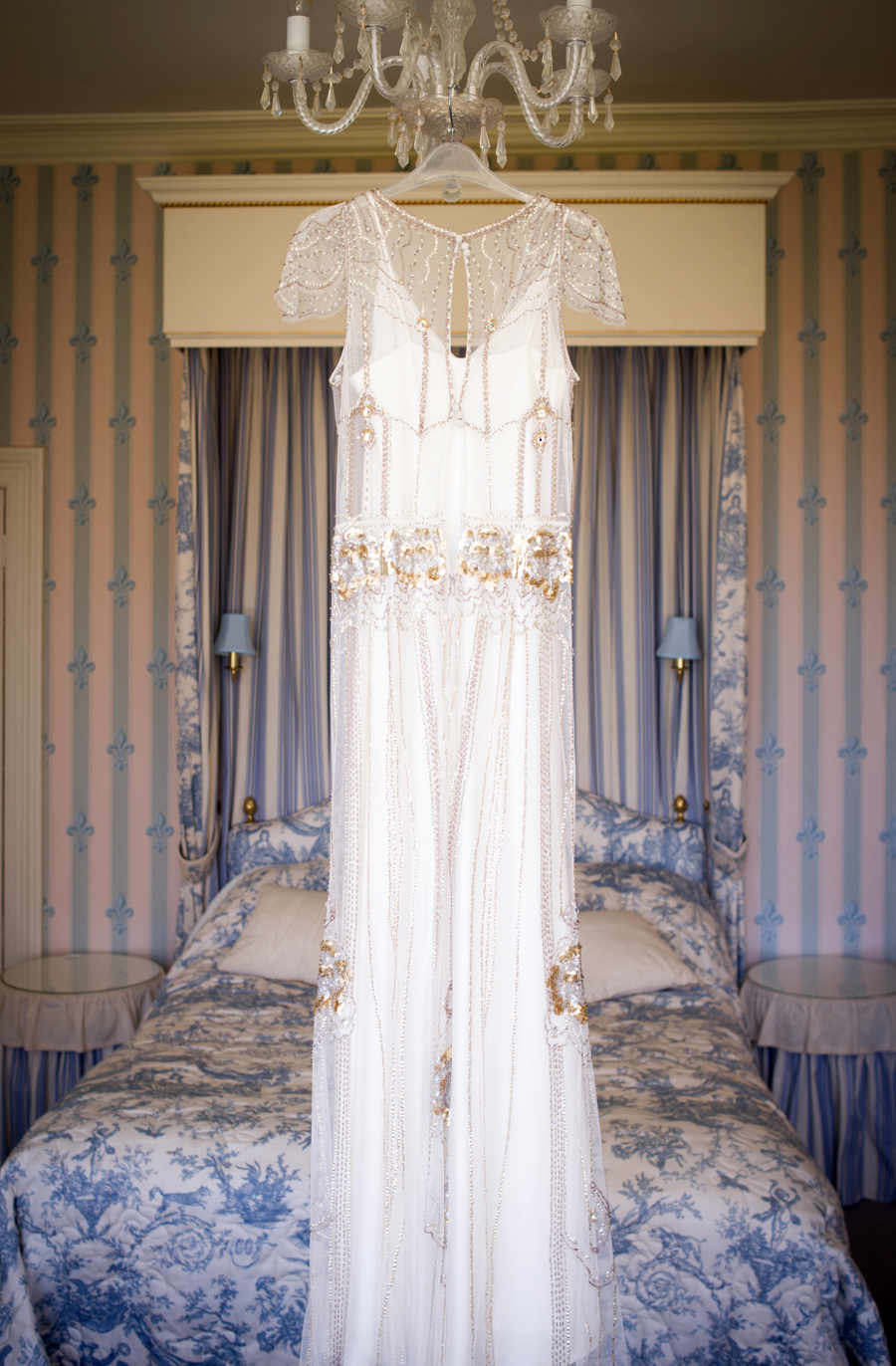 Vintage Wedding Dress: 1920's inspired