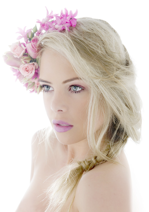Bridal floral headpieces: the comeback!