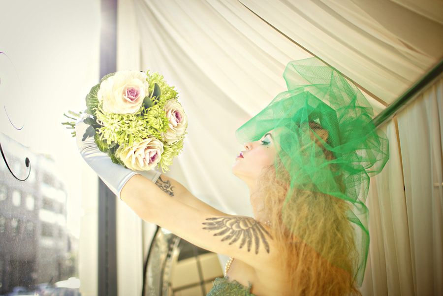 Green with envy: a wedding shoot