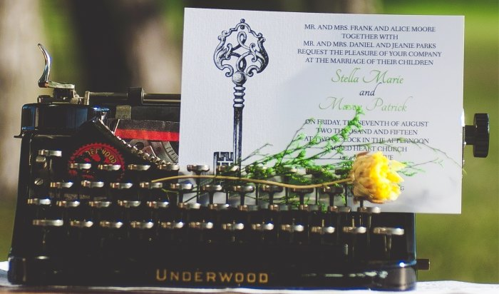Unique wedding stationery – Alice In Wonderland and more