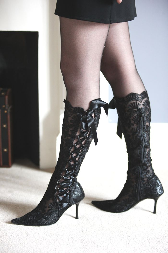 in weddingland lace wedding boots and bridal shoes