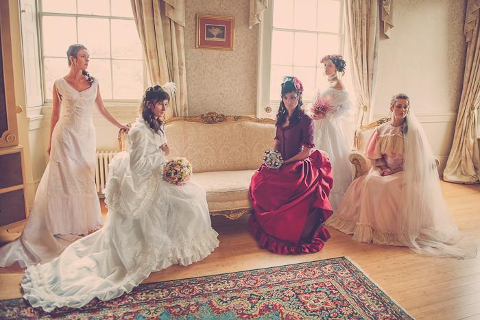 Wedding style: A Victorian styled wedding