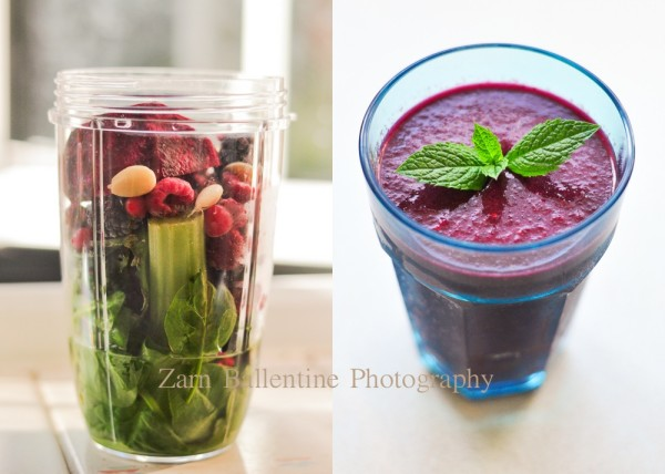 Beetroot and Spinach Smoothy