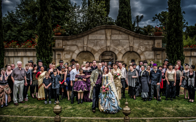 The Worlds Best Steampunk Wedding EVER