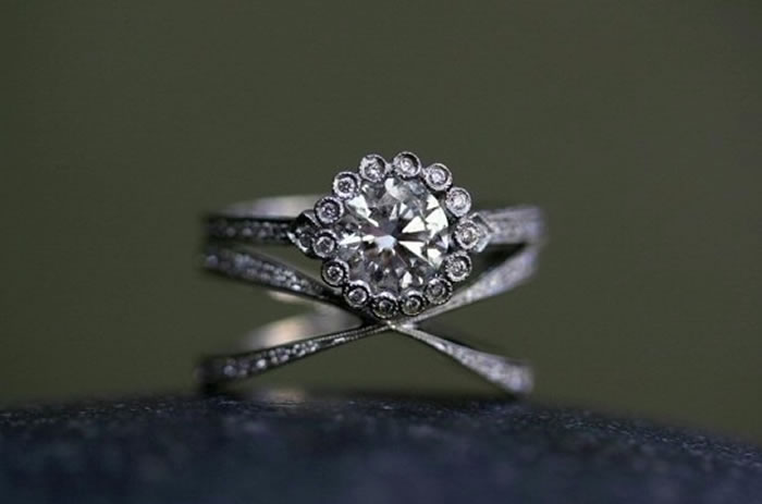 Cathy Waterman – quirky wedding rings